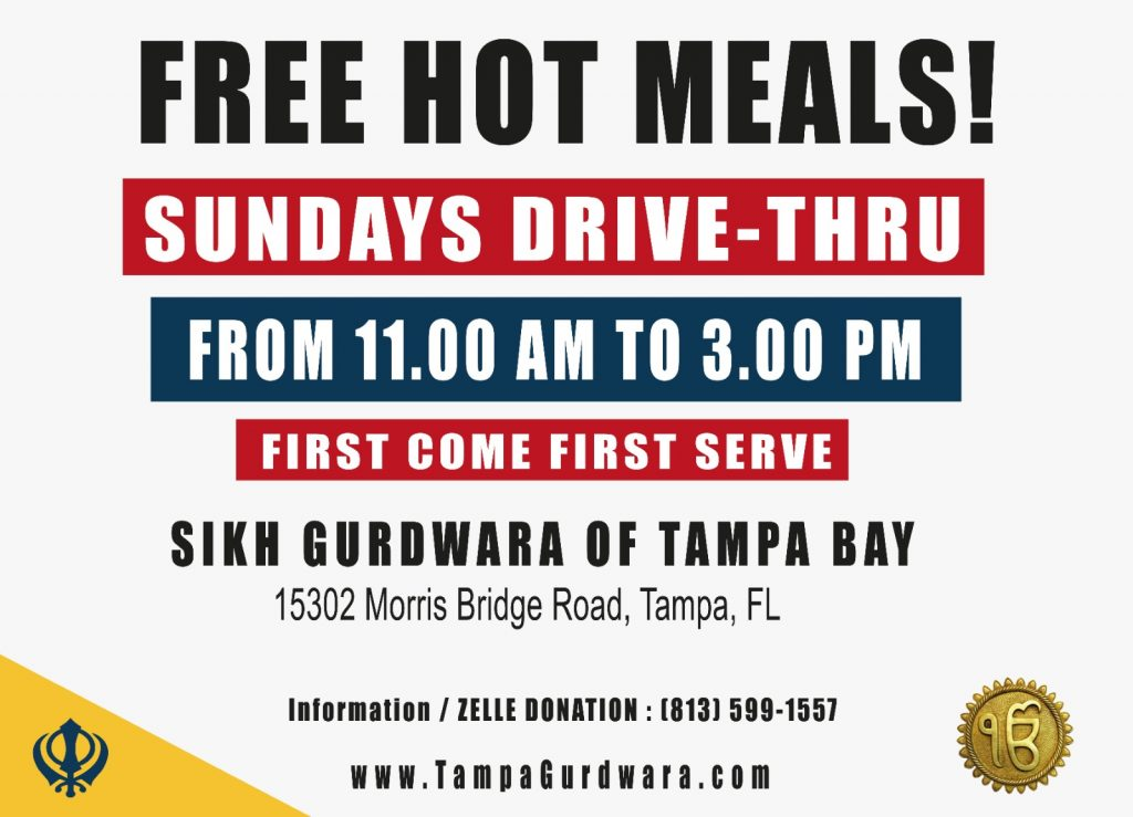 Free Hot Meals every Sunday